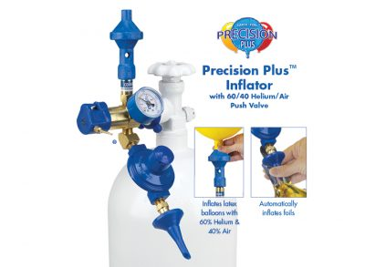 Precision Plus Inflator With 60/40 Push