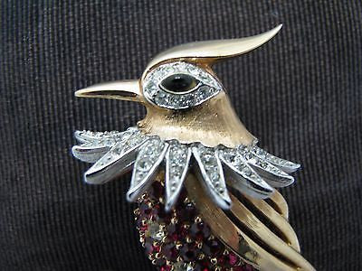 Beautiful Vintage Marcel Boucher Bird Brooch from 1955