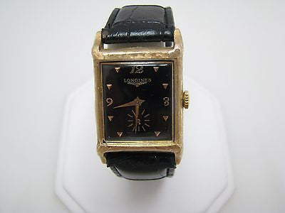 Vintage 1950s Men's Longines Analog Watch