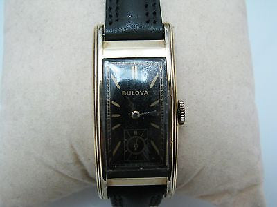 Vintage 1930s Men's Bulova Analog Watch