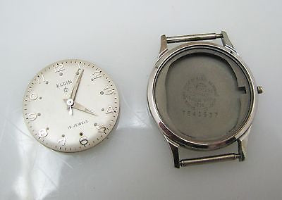 Vintage 1950s Men's Elgin Analog Watch