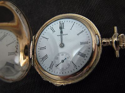 Beautiful 1908 Waltham Pocket/ Pendant Watch with Tri-Color Case