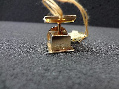 14k Yellow Gold Scale Charm or Pendant