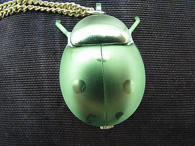 Lovely Ladybug Pendant Watch from the 1960's