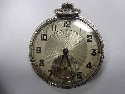 14k Vintage 1924 Illinois Pocket Watch - Gold Filled