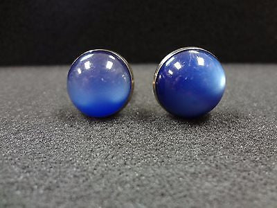 Vintage Blue Stone Cuff links
