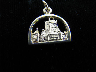 10k Yellow Gold Skyline Charm