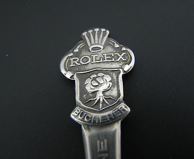 Vintage Collectible Silver Tone Rolex Lucerne Spoon CB