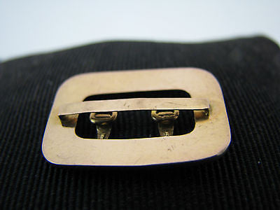 Lovely 14k Yellow Gold False Buckle studded with Seed Pearls