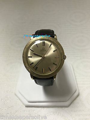 Vintage Original 1950s Omega Automatic 10K Gold Filled Swiss Watch Wristwatch