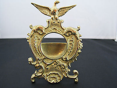 Nice Brass Pocket Watch Display Stand with an Eagle Gracing the Top of the Stand