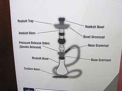 Display Model Vapor Hookah Platinum Collection with Box