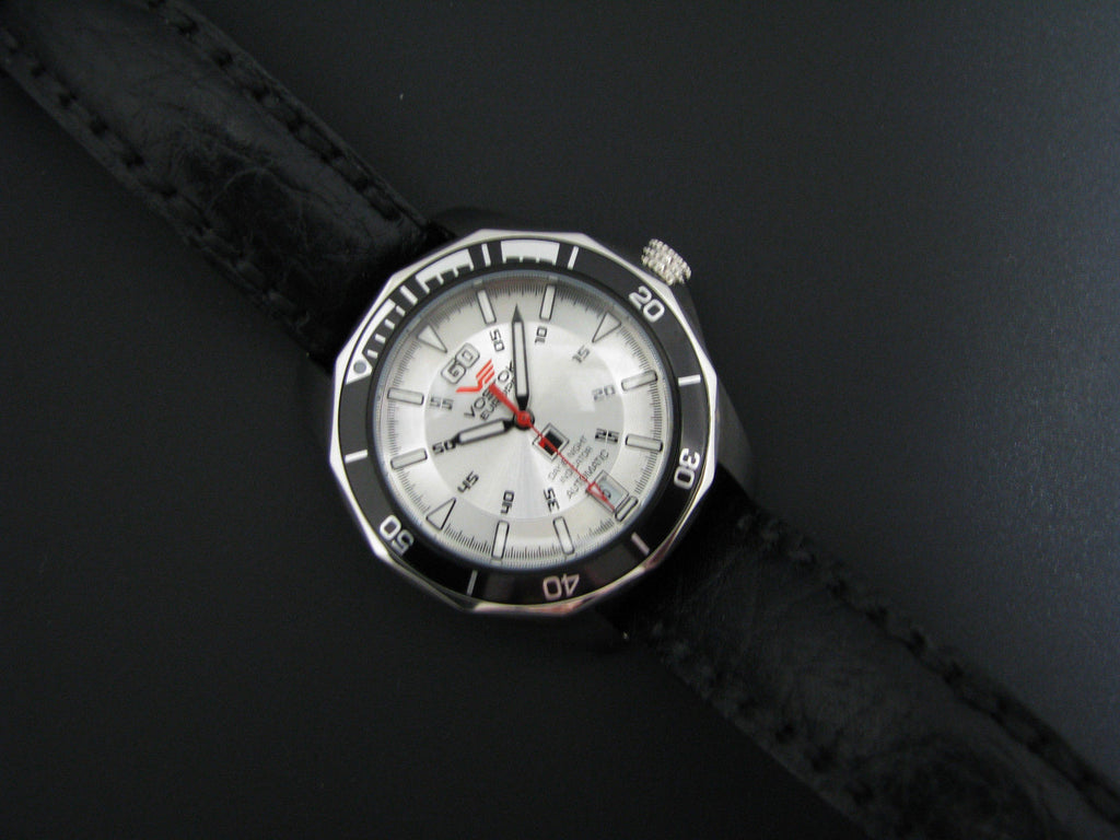 Very Nice Vostok Europe Automatic Watch with Date and Day & Night Indicator