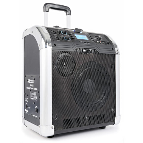 Nešiojama garso sistema Power Dynamics PA203 Portable, SD/USB/MP3/BT
