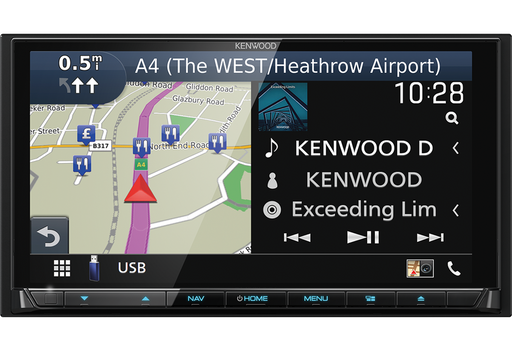"Kenwood DNX9190DABS, 6.8"" HD AV-Resyveris / Navigacija"