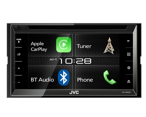 Multimedija automobiliui JVC KW-V820BT, 2-DIN, DVD, CD, USB, BLUETOOTH, Apple CarPlay Multimedija JVC AUTOGARSAS.LT