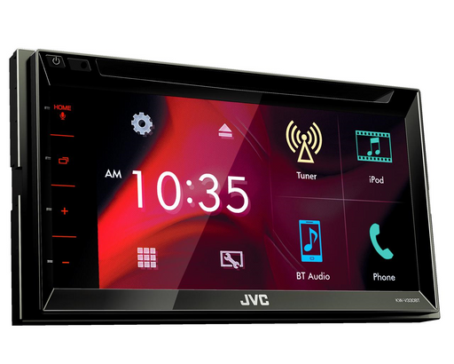 Multimedija automobiliui JVC KW-V330BT, 2-DIN, DVD, CD, USB, BLUETOOTH Multimedija JVC AUTOGARSAS.LT