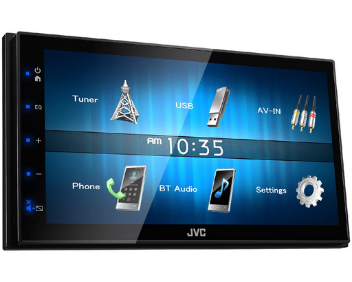 Multimedija automobiliui JVC KW-M24BT, 2-DIN, USB, BLUETOOTH Multimedija JVC AUTOGARSAS.LT