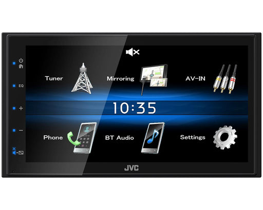Multimedija automobiliui JVC KW-M25BT, USB, Bluetooth, Android Mirroring Multimedija JVC AUTOGARSAS.LT