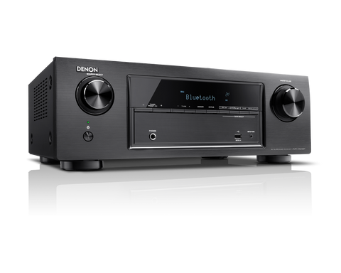 AV resyveris Denon AVR-X520BT 5.2 HD, 5x130W su Bluetooth