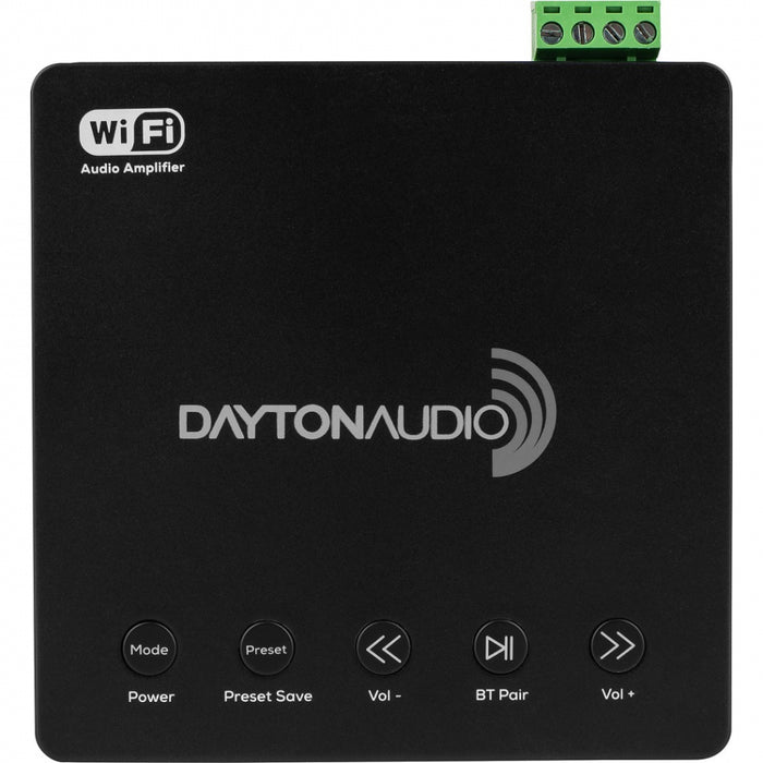 Garso stiprintuvas Dayton Audio WB40A, 2x20W, mp3 grotuvas USB/Wi-Fi/BLUETOOTH/Multi-Room Stereo Dayton Audio AUTOGARSAS.LT