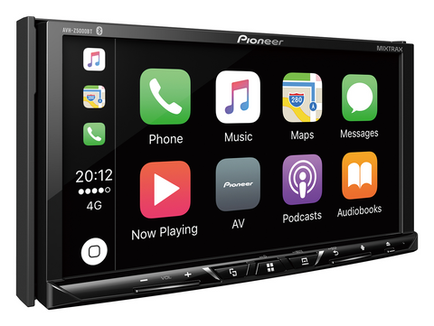 Multimedija automobiliui Pioneer AVH-Z5000BT, USB, BLUETOOTH, 2-DIN, Apple CarPlay, Android Auto, Waze-AUTOGARSAS.LT