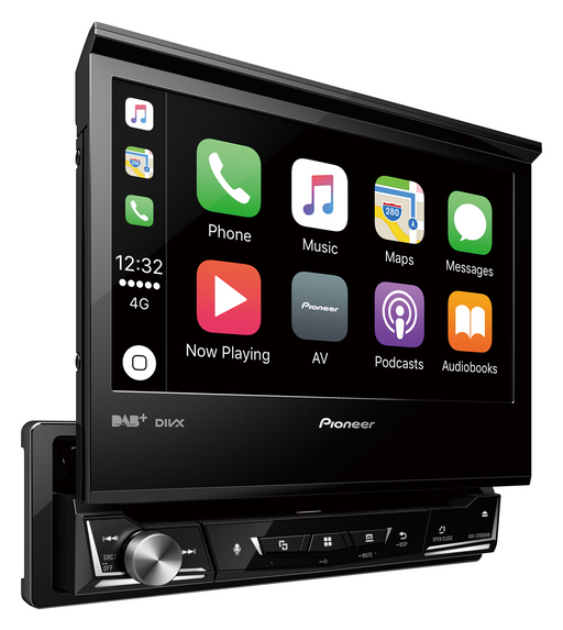 Multimedija automobiliui Pioneer AVH-Z7000DAB, 1-DIN, USB, BLUETOOTH, DAB/DAB+, Apple CarPlay, Android Auto, Waze Multimedija Pioneer AUTOGARSAS.LT