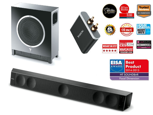 Komplektas Focal DIMENSION+SUB AIR+WIRELESS RECEIVER-AUTOGARSAS.LT