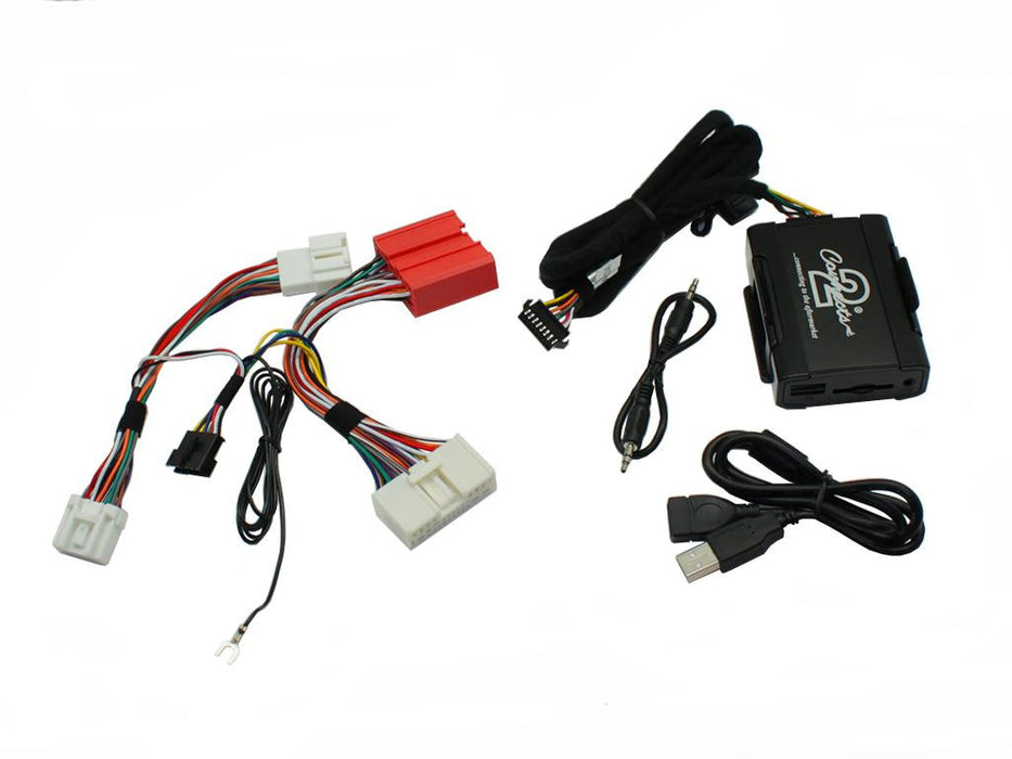 Automobilinis USB/SD adapteris CTAMZUSB002, skirtas Mazda 3/5/6/CX-7 nuo 2009m AV/USB/AUX/BT adapteriai Connects AUTOGARSAS.LT