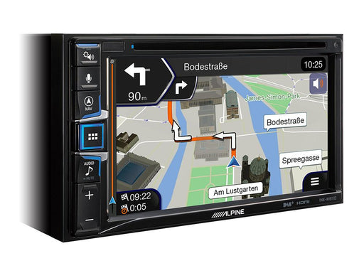 Multimedija automobiliui Alpine INE-W611D, 2-DIN, USB, BLUETOOTH, Apple CarPlay, Android Auto, DAB+ Multimedija Alpine AUTOGARSAS.LT