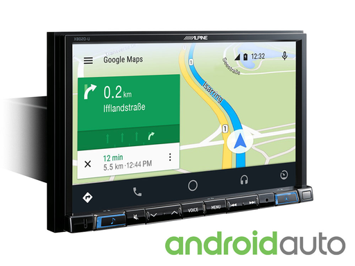 Pažangi navigacinė sistema Alpine X802D-U, 2-DIN, USB, HDMI, BLUETOOTH, Apple CarPlay ir Android Auto-AUTOGARSAS.LT