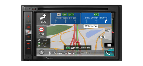 Multimedija su pažangia navigacine sistema Pioneer AVIC-F980BT-C, CD/DVD, USB, BLUETOOTH, Apple CarPlay-AUTOGARSAS.LT