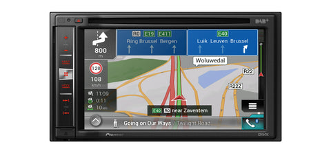 Multimedija su pažangia navigacine sistema Pioneer AVIC-F980DAB, CD/DVD, USB, BLUETOOTH, Apple CarPlay, DAB+-AUTOGARSAS.LT