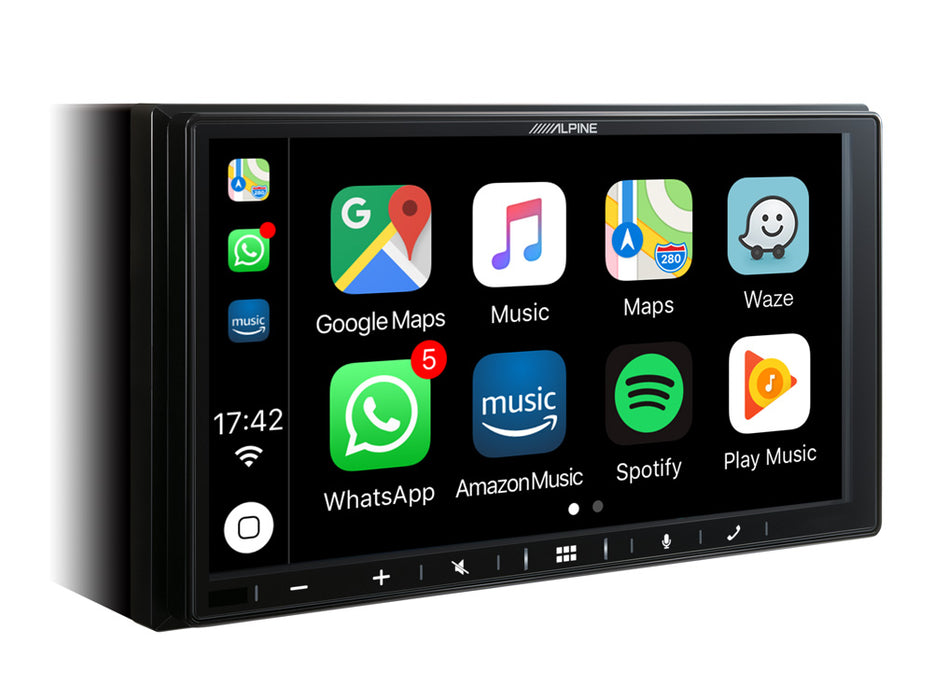 Multimedija automobiliui Alpine iLX-W650BT, 2-DIN, USB, BLUETOOTH, Apple CarPlay, Android Auto Multimedija Alpine AUTOGARSAS.LT