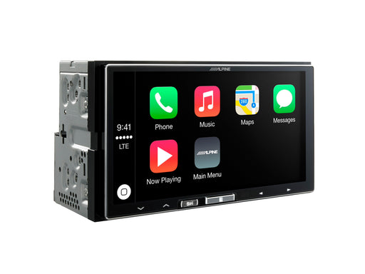 Skaitmeninis multimedijos grotuvas Alpine iLX-700, su Apple CarPlay Multimedija Alpine AUTOGARSAS.LT