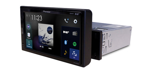 Multimedija automobiliui Pioneer SPH-EVO62DAB-UNI, 1-DIN, USB, BLUETOOTH, Apple CarPlay, Android Auto, Waze Multimedija Pioneer AUTOGARSAS.LT