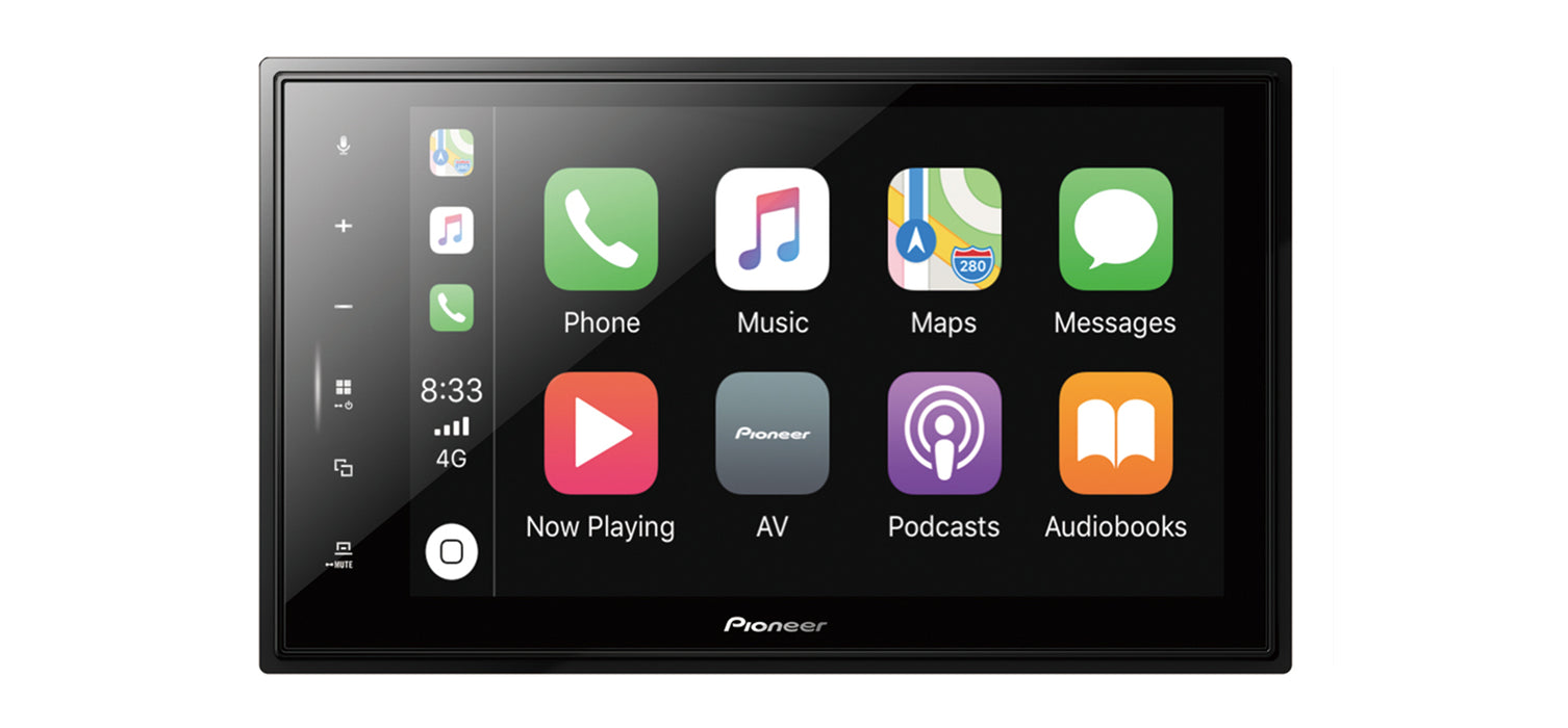 Multimedija automobiliui Pioneer SPH-EVO82DAB-UNI, 1-DIN, USB, BLUETOOTH, Apple CarPlay, Android Auto, Waze Multimedija Pioneer AUTOGARSAS.LT