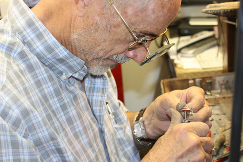 Dave Blakley Bench Jeweler