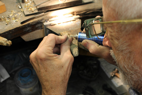 Bench Jeweler Dave Blakley