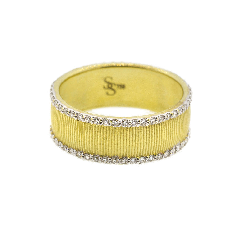 Gold Eternity Ring-Sloane Street-Duncan & Boyd Jewelers