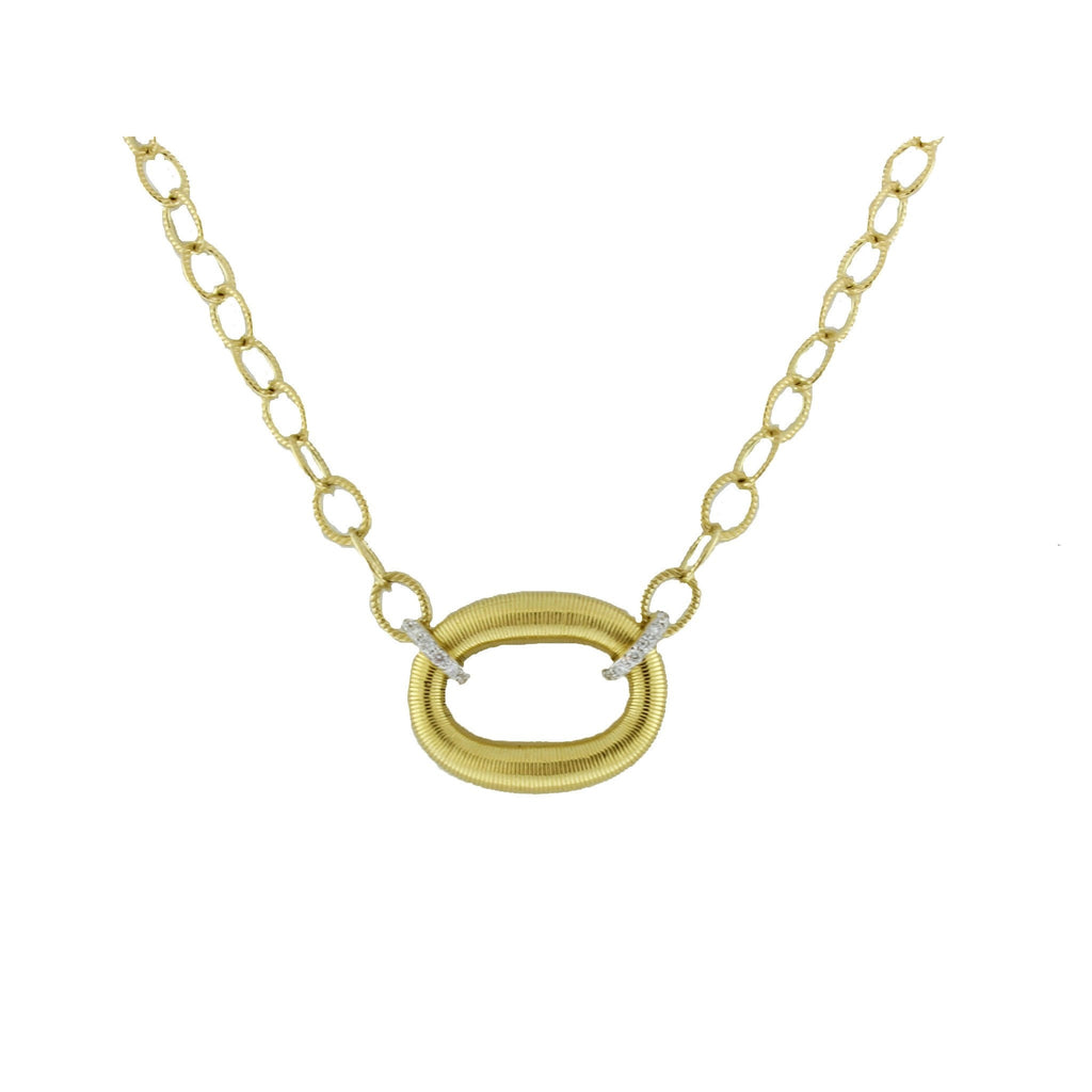 Gold Ring Necklace-Sloane Street-Duncan & Boyd Jewelers