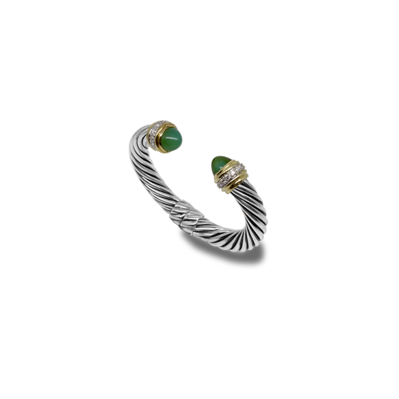 Green Onyx Bracelet-David Yurman-Duncan & Boyd Jewelers