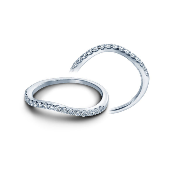Insignia Curved Wedding Band-Verragio-Duncan & Boyd Jewelers
