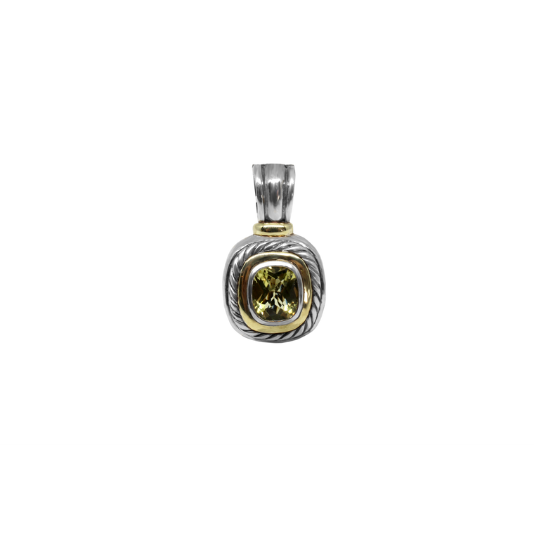 Lemon Citrine Enhancer-David Yurman-Duncan & Boyd Jewelers