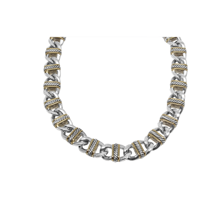Madison Link Necklace-David Yurman-Duncan & Boyd Jewelers