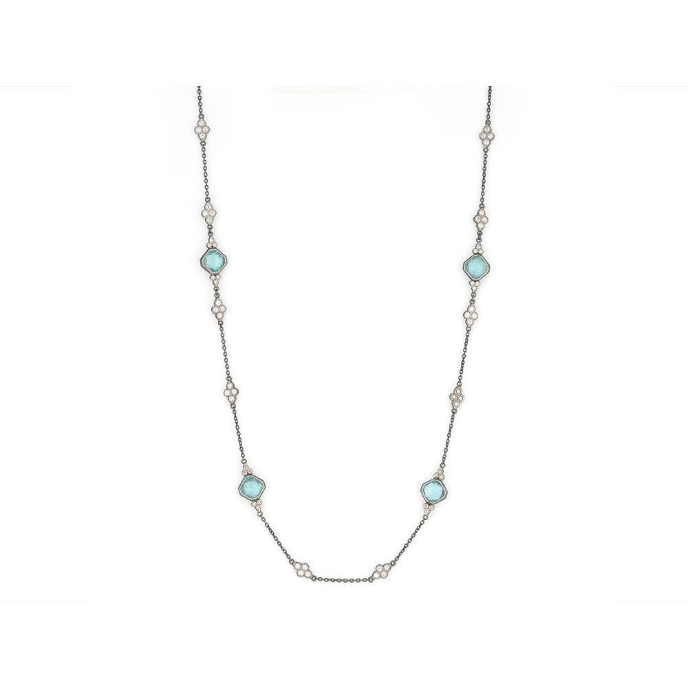 Moroccan Cushion Stone Necklace-Jude Frances-Duncan & Boyd Jewelers