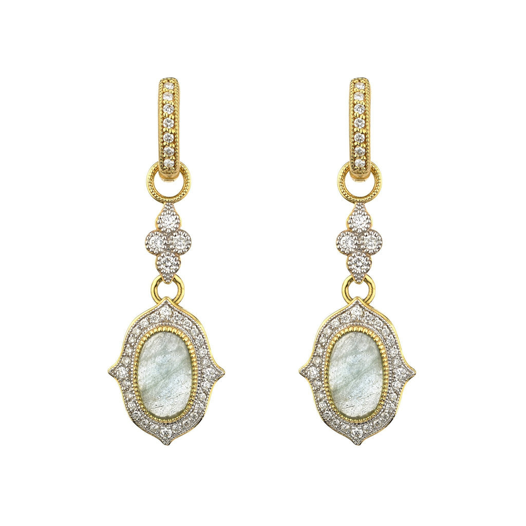Moroccan Double Drop Oval Earrings Charms-Jude Frances-Duncan & Boyd Jewelers