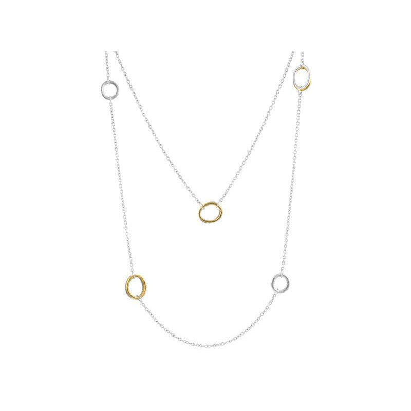 Multi Station Hoopla Necklace-Gurhan-Duncan & Boyd Jewelers