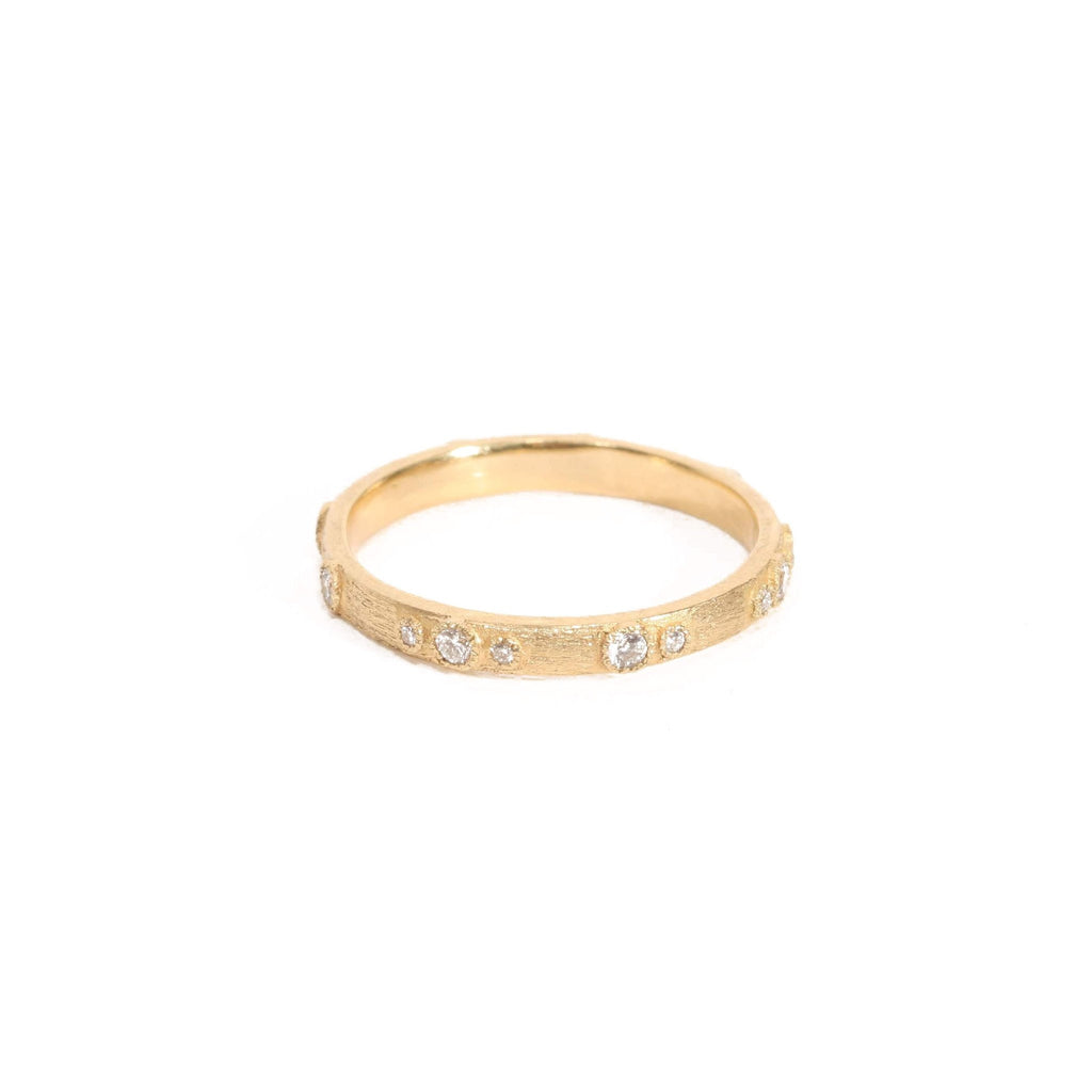 Old World Gold Stack Ring-Armenta-Duncan & Boyd Jewelers