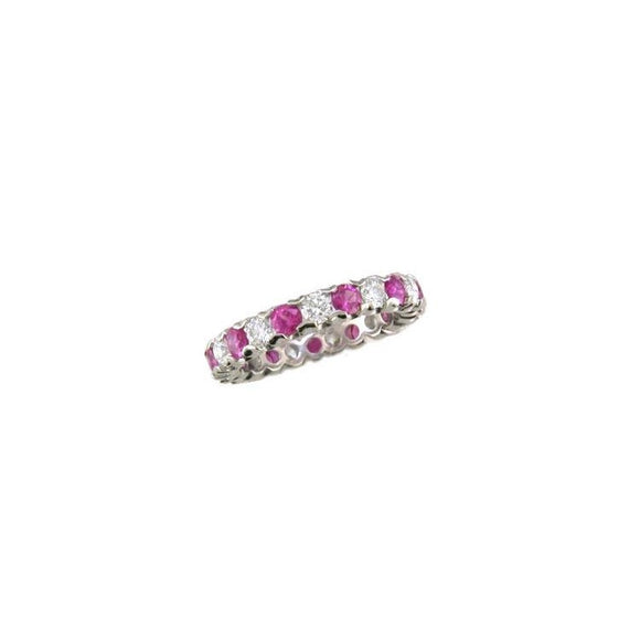 Pink Sapphire and Diamond Band-Oscar Heyman-Duncan & Boyd Jewelers